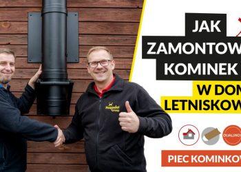 V-020 JAK ZAMONTOWAĆ KOMINEK W DOMU LETNISKOWYM